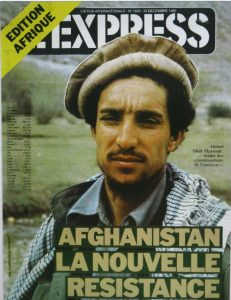 Express Dergisine Kapak Olan Afgan Kumandan Şah Mesut, Coşkun Aral