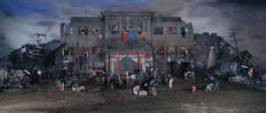 WQ_Dream-of-Migrants,170x400cm,2005
